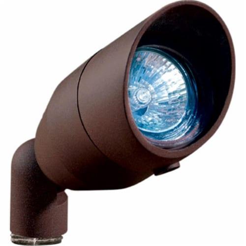 Dabmar Lighting LV190-BZ Cast Aluminum Directional Spot Light with Hood, Bronze Perspective: front