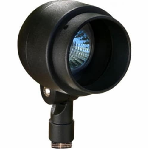 Dabmar Lighting LV201-B Cast Aluminum Directional Spot Light, Black Perspective: front