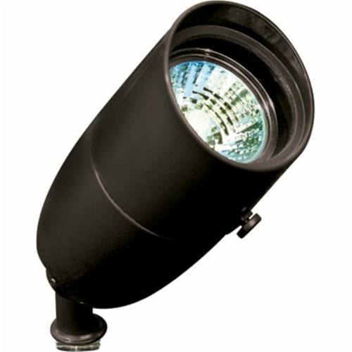 Dabmar Lighting LV230-B Cast Aluminum Directional Spot Light, Black Perspective: front