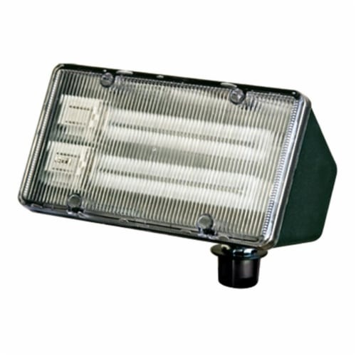 Dabmar Lighting DF5850-G Polycarbonate Area Flood Light, Green Perspective: front