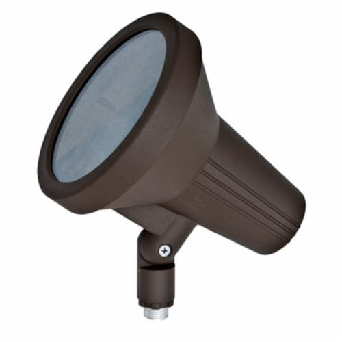 Dabmar Lighting DPR40-BZ Cast Aluminum Directional Spot Light, Bronze Perspective: front