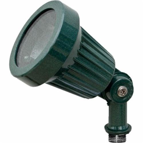 Dabmar Lighting LV100-G Cast Aluminum Directional Spot Light, Green Perspective: front
