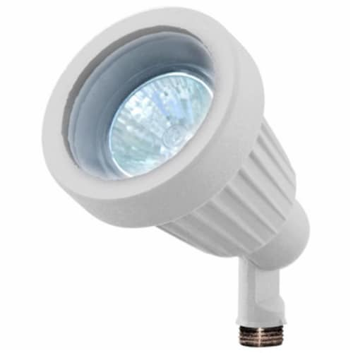 Dabmar Lighting LV100-W Cast Aluminum Directional Spot Light, White Perspective: front