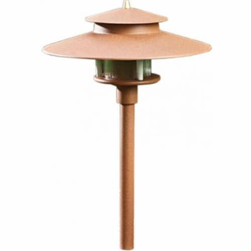 Dabmar Lighting LV70-BRZ Cast Aluminum Path, Walkway and Area Light, Bronze Perspective: front