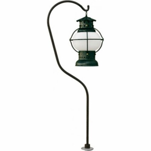Dabmar Lighting LVC720-RST Cast Aluminum Path, Walkway and Area Light, Rust Perspective: front