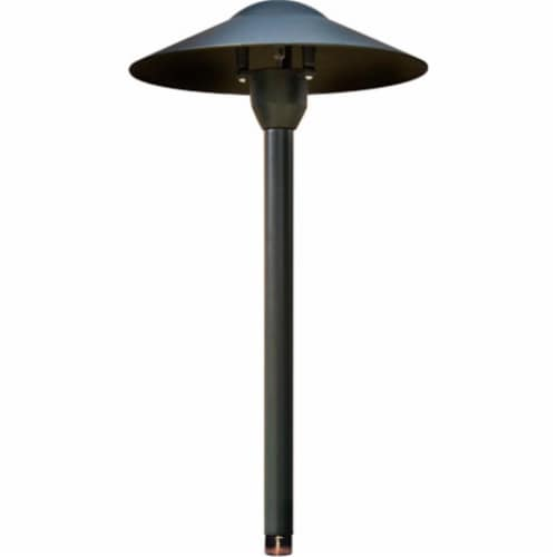 Dabmar Lighting LV214-B Cast Aluminum Path, Walkway and Area Light, Black Perspective: front