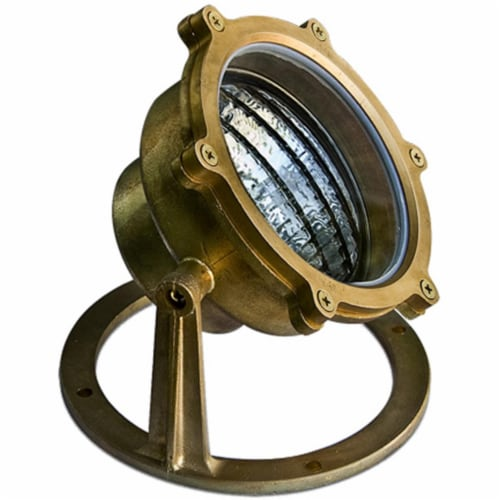 Dabmar Lighting LV308-BS Solid Brass Pond & Fountain Underwater Light, Brass - 6 x 6.50 x 6.5 Perspective: front