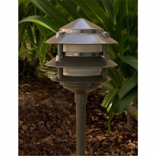 Dabmar Lighting LV102-SS304 Three Tier Pagoda Fixture Perspective: front