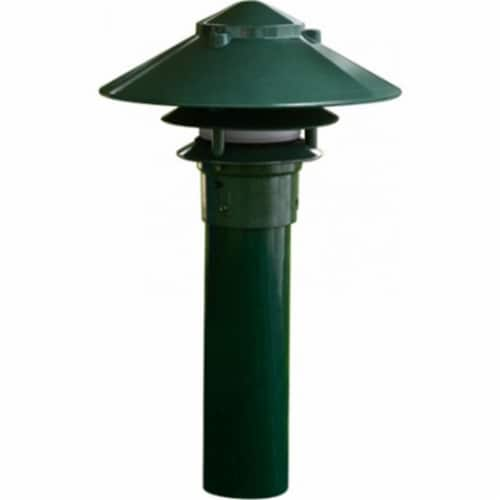 Dabmar Lighting LV-LED104-G 2.5W & 12V JC-LED Large Top 3 Tier Pagoda Fixture with 3 in. Base Perspective: front
