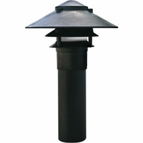 Dabmar Lighting LV-LED104-B 2.5W & 12V JC-LED Large Top 3 Tier Pagoda Fixture with 3 in. Base Perspective: front