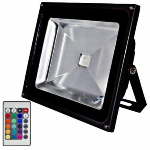 Dabmar Lighting DF-LED5964-B-MC Cast Aluminum LED Flood Light, Black - 9.13 x 11.12 x 6.50 in Perspective: front