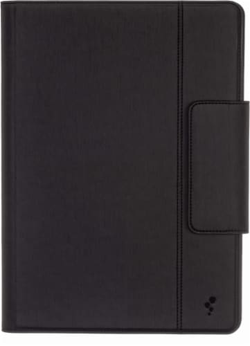 M-Edge Stealth 360 iPad Case - Black Perspective: front