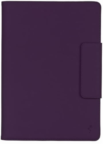 M-Edge Universal Stealth Folio for iPad - Purple Perspective: front