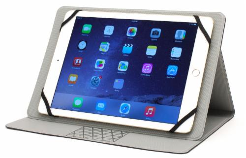M-Edge Folio Plus Tablet Case - Gray Perspective: front