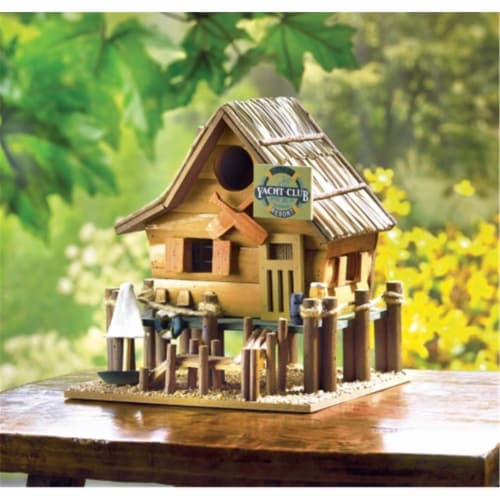 Zingz & Thingz Oar And Paddle Birdhouse Perspective: front