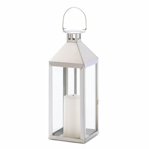 Home Locomotion 10001045 Soho Candle Lantern Perspective: front