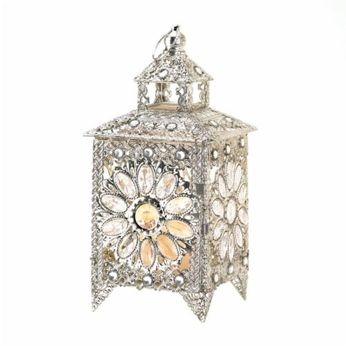 Home Locomotion 10015226 Royal Jewels Candle Lantern Perspective: front
