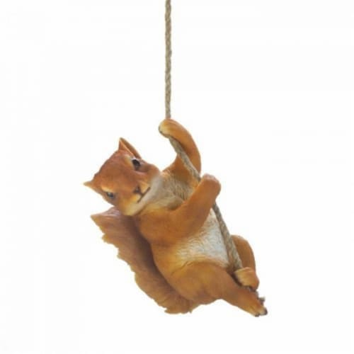Summerfield Terrace 10018446 Hanging Squirrel Decor Perspective: front