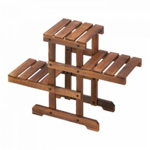 Summerfield Terrace 10018436 Zigzag Pallet Plant Stand Perspective: front