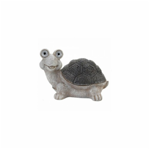 Summerfield Terrace 10018865 Solar Turtle Statue Perspective: front