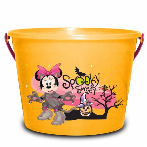 PTI Group Minnie Mouse LED Round Plastic Bucket Perspective: front