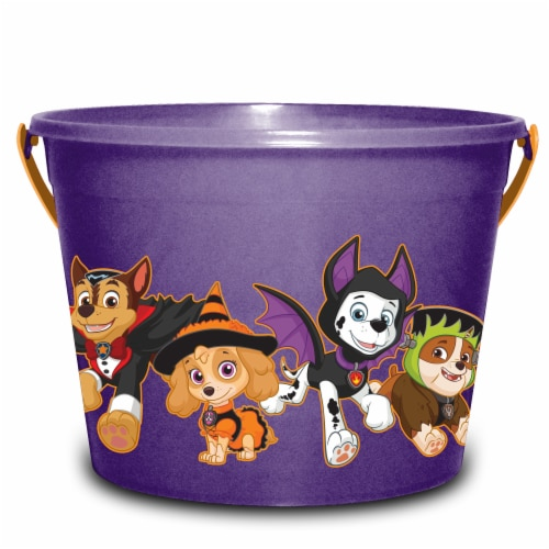 PTI Group Paw Patrol LED Round Plastic Bucket Perspective: front