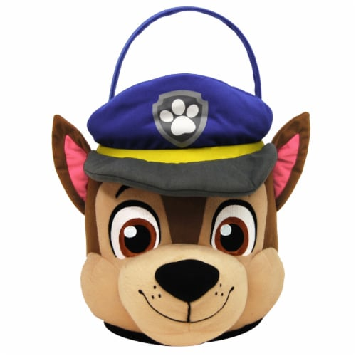 PTI Group Paw Patrol Chase Small Blush Basket Perspective: front