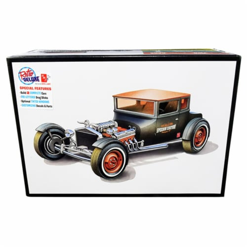 AMT AMT1167 Skill 2 Model Kit 1925 Ford Model T Chopped Set of 2 Pieces 1 by 25 Scale Model Perspective: front