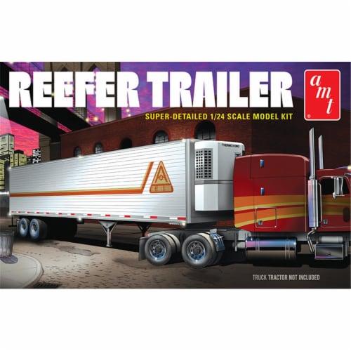 AMT AMT1170 Reefer Trailer Plastic Model Kit Perspective: front