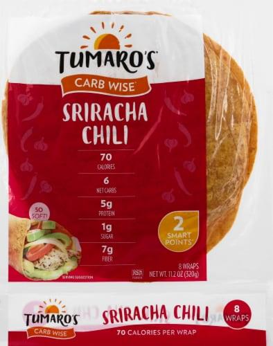 Tumaro's Sriracha Chili Wraps Perspective: front