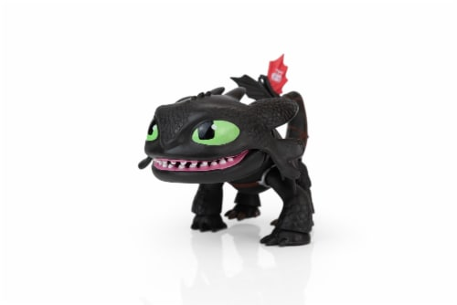 """How To Train Your Dragon 6""""-7"""" Action Vinyl: Toothless Perspective: front"""