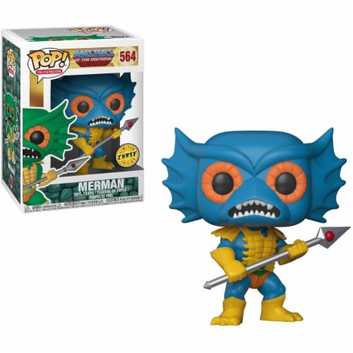 Masters of the Universe POP Vinyl Figure: Merman (Blue Chase) Perspective: front