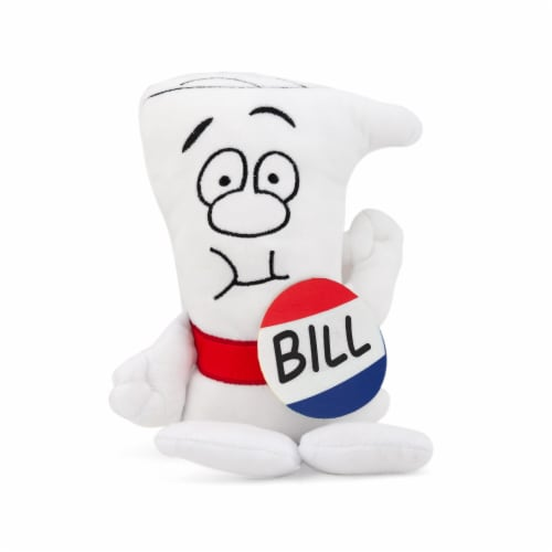 Schoolhouse Rock! Bill Plush Character | I'm Just A Bill | 9.5 Inches Tall Perspective: front