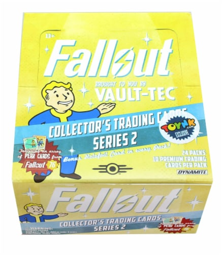 Fallout Trading Cards Series 2 | Sealed Hobby Box | Contains 24 Unopened Packs Perspective: front