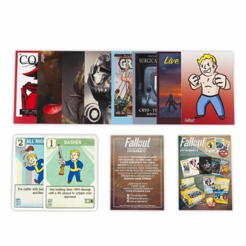 Fallout Trading Cards Series 2 | Sealed Blister Pack | Contains 10 Random Cards Perspective: front