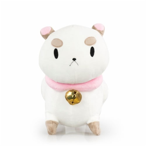 Talking PuppyCat Plush | Mighty Fine Official Bee & PuppyCat Doll | 10 Inches Perspective: front