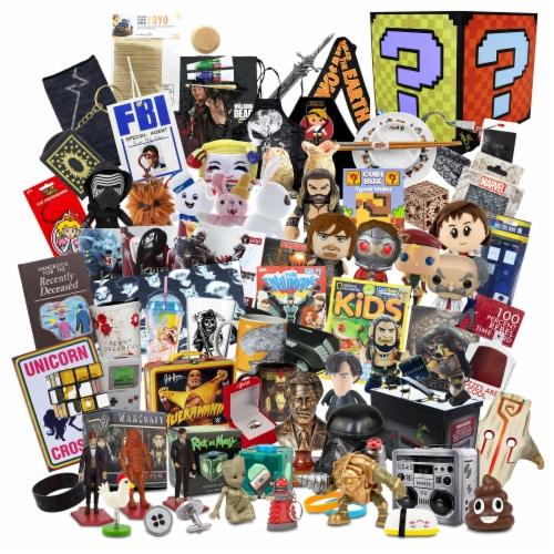 Top Secret Gargantuan Mystery Gift Box | $699 Value | 70+ Fun Items! Perspective: front
