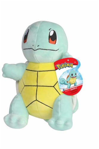 Pokemon 8 Inch Starter Plush   Squirtle Perspective: front