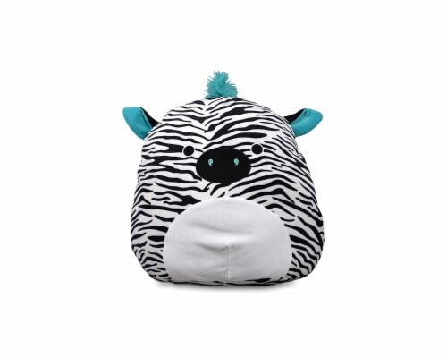 Squishmallow 8 Inch Plush | Zeke the Zebra Perspective: front