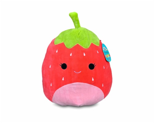 Squishmallow 12 Inch Plush | Scarlet the Strawberry Perspective: front