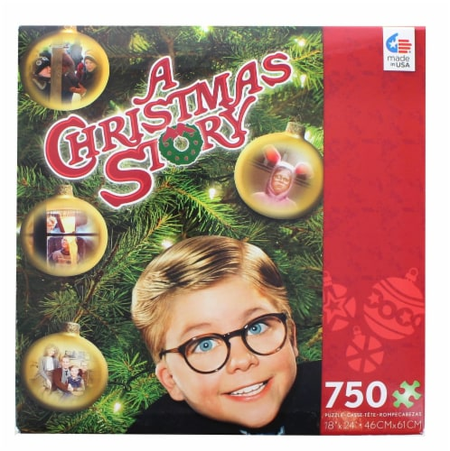 A Christmas Story 750 Piece Christmas Jigsaw Puzzle Perspective: front