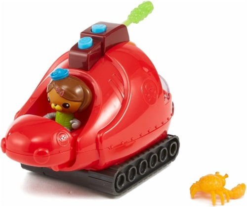 Fisher-Price Octonauts Gup-X & Dashi Vehicle & Figure Playset Perspective: front