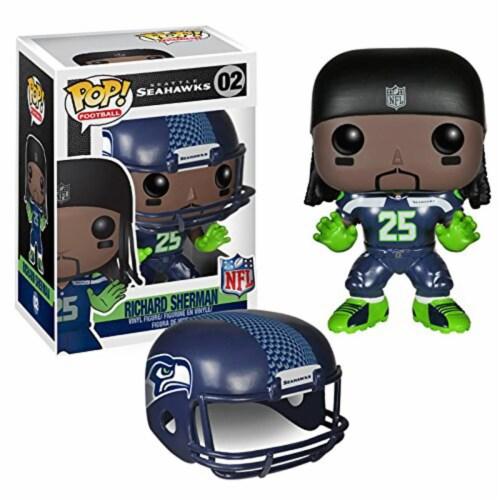 Funko Pop! Football Seattle Seahawks Richard Sherman NFL Vinyl Figure Perspective: front