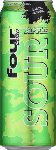 Four Loko Sour Apple Malt Beverage Perspective: front