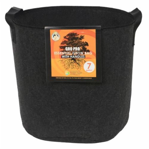 Gro Pro Essential Grow Bag 7 gal. - Case Of: 1; Perspective: front