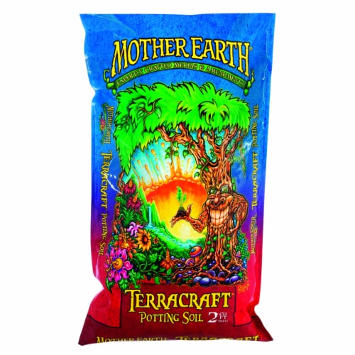 Mother Earth Terracraft Potting Soil 2 - Case Of: 1; Perspective: front