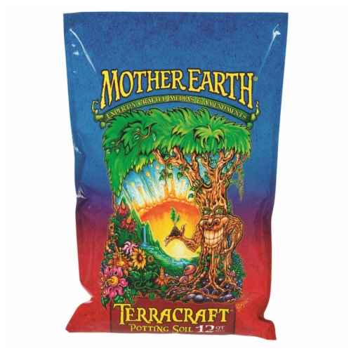 Mother Earth Terracraft Potting Soil 12 qt. - Case Of: 1; Perspective: front