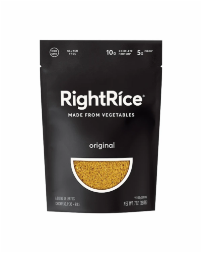 RightRice Original Vegetable Based Rice Perspective: front