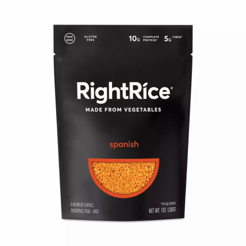 RightRice Spanish Vegetable Based Rice Perspective: front