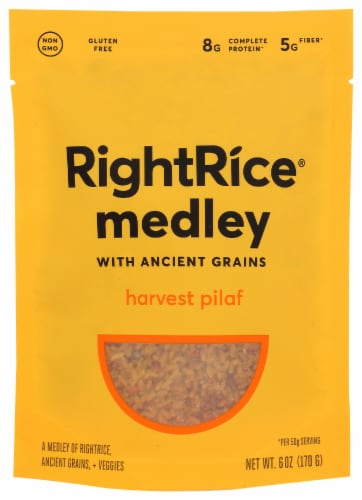 RightRice Ancient Grains Harvest Pilaf Perspective: front